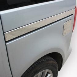RVS chromen Deurstrip-Schuifdeur lijst VW Caddy