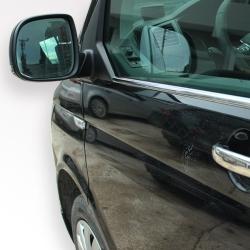 RVS chromen Raamlijst 2 delig VW Transporter T6