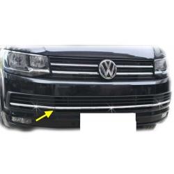 RVS Grille Lijsten 3 delig passend voor VW Transporter T6  2015+