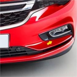 Chromen mistlamp covers Opel Astra K 2015+
