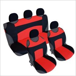 Autostoel T-shirt set Zwart Rood
