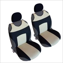 Autostoel T-shirt  Zwart Beige