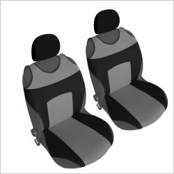 Autostoel T-shirt  Zwart Grijs