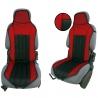 Autostoelkussen Rood Zwart