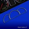 Chromen Tellerringen voor Opel Astra F