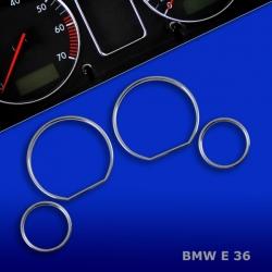 Chromen Telleringen BMW E36 318 320 323 325 M3 Z3