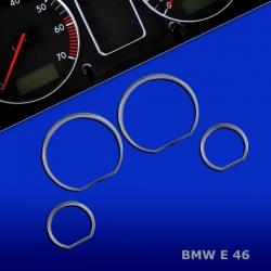 Chromen Tellerringen BMW E46 3-serie 318 320 323 325 M3