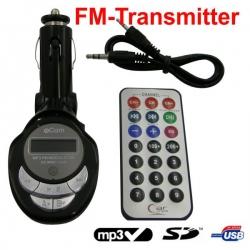 FM Transmitter Zwart