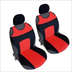 Autostoel T-shirt  Zwart Rood 2 delig
