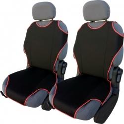Autostoel T-shirt  zwart-rood