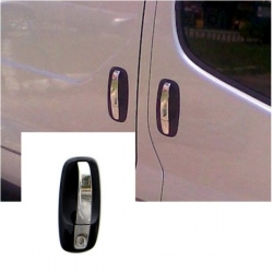 Chromen Deurgreep voor Opel Vivaro 2 4 deurs