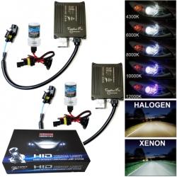 HB1 9004 Xenon ombouwset 10000 Kelvin