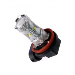 H11 High Power Cree Led-lamp 12V 30W Xenon wit