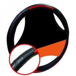 Stuurhoes zwart rood
