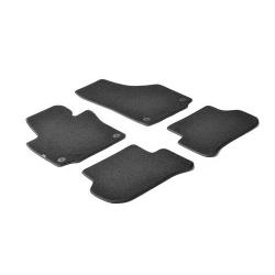 Velours Automatten set zwart  voor  Skoda Yeti 01/2014+