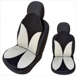 Auto zitkussen grijs- zwart
