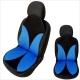 Auto zitkussen blauw- zwart