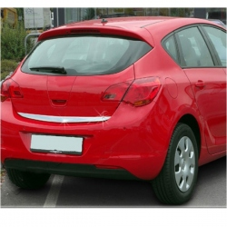 Chromen RVS kofferbak strip Opel ASTRA J