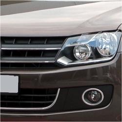 RVS Grille Lijsten passend voor VW AMAROK