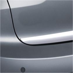 Chromen RVS kofferbak strip Opel ASTRA G