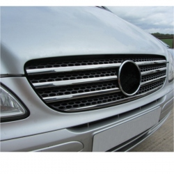 RVS Grille Lijsten 7 delig passend Mercedes VANEO 02-05