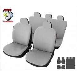 Autostoelhoes Grijs met zijairbag