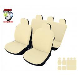 Autostoelhoes Beige met zij-airbag