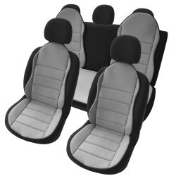 Autostoelkussen Grijs 3 delig nieuwe design
