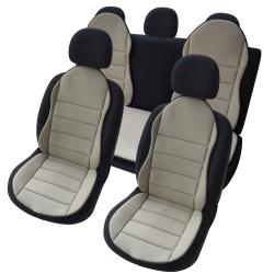 Autostoelkussen Beige 3 delig nieuwe design