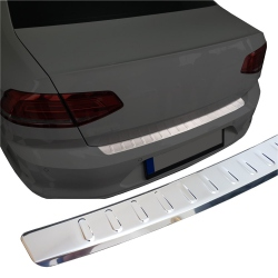 RVS Achterbumperprotector VW CADDY Bj: 03-10