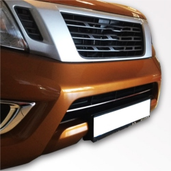 RVS Grille Lijsten 4 delig passend VW T5.5 MULTIVAN (2010-)