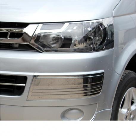 RVS Koplamp afdekking VW T5.5 van vanaf 2010