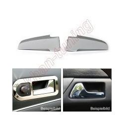 Chromen metalen binnen deurgrepen voor BMW E46